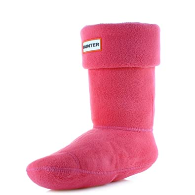Hunter Damenschuhe Bright Pink Short Short Short Welly Wellington Boot Socks Größe 6 8 ... e4ed5c