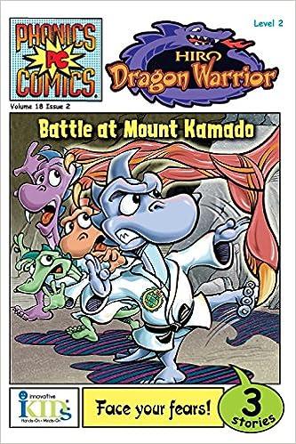 Phonics Comics Hiro Dragon Warrior Battle At Mount Kamado