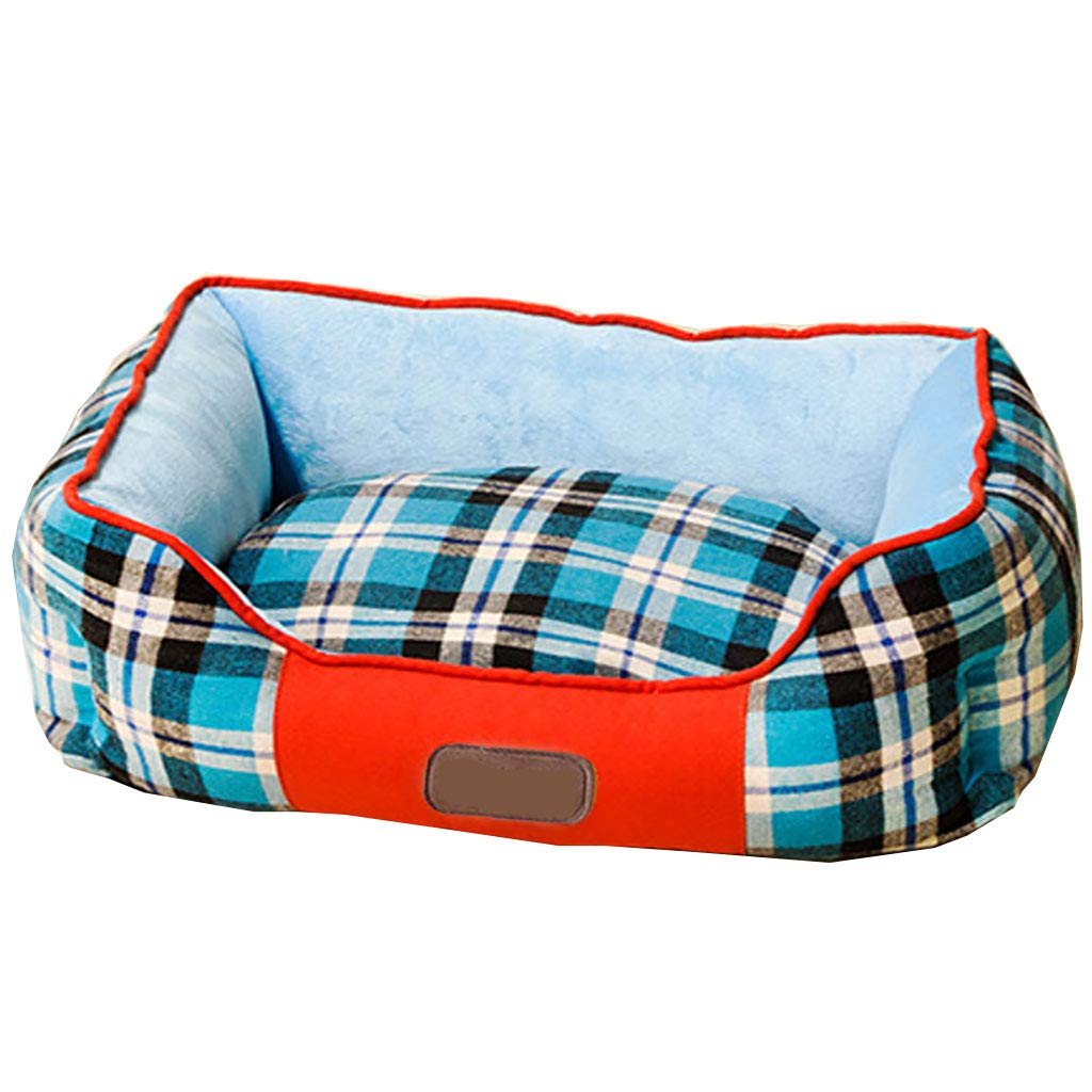 73cm Soft Warm Pet Dog Cat Bed House Plush Cozy Nest Mat Pad Cushion Cave