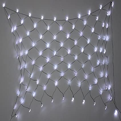 Amazon 100 led solar string lights and net lights garden 100 led solar string lights and net lights aloadofball Gallery
