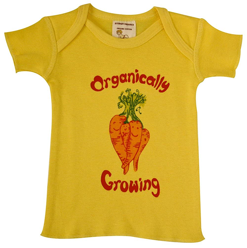 【国産】 Ecobaby B0767NMPT2 Organics SHIRT ユニセックスベビー Yellow Yellow Carrot Organics B0767NMPT2, マツエシ:49c46111 --- narvafouette.eu