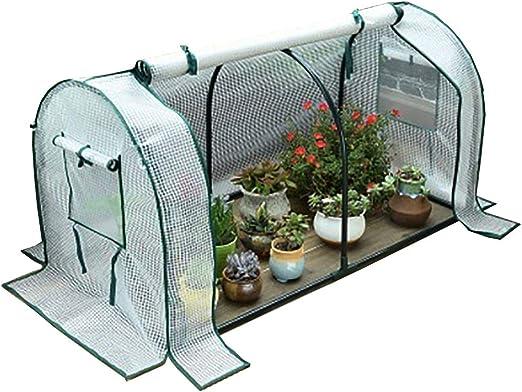 Jardín de Efecto Invernadero, Mini Invernadero Pop Up Grow House, al Aire Aislante Que Cubre la Lluvia PE-47.2