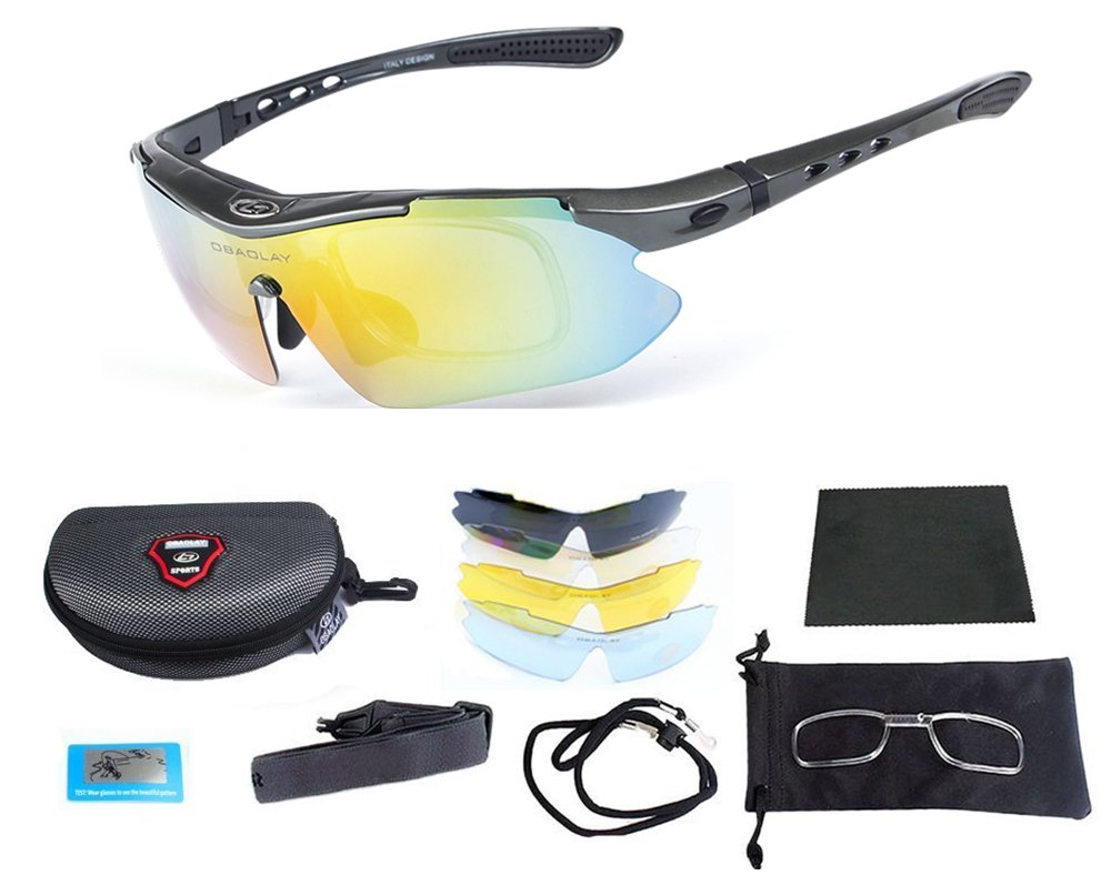 69b9c142f4 SAMPACT Polarized Sports Sunglasses