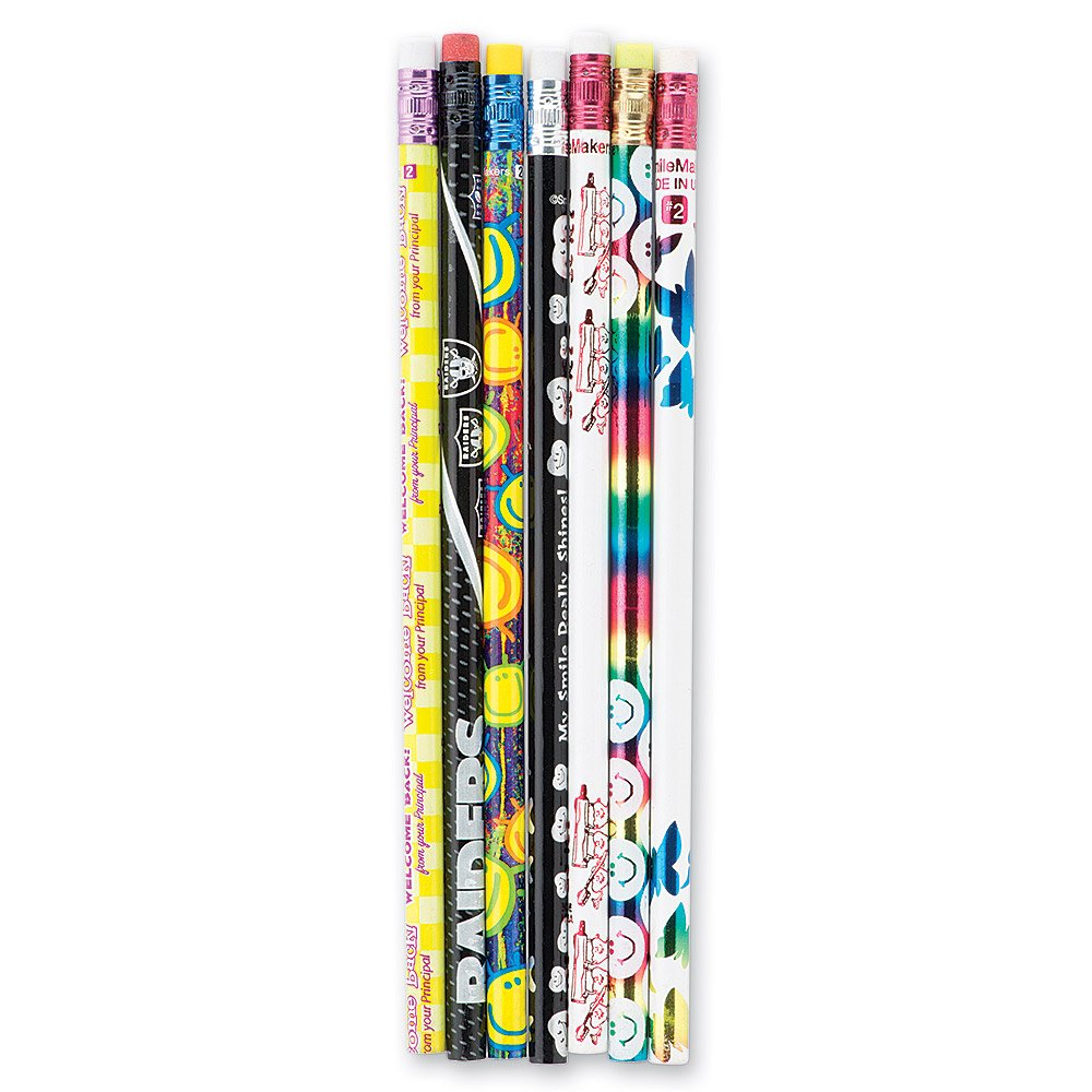 Cheap Variety Pencils - 576 Pencils in a Bulk Package by SmileMakers