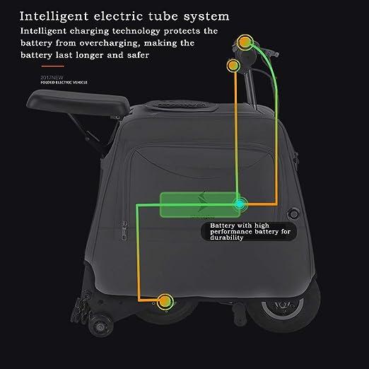 Amazon.com: DBSCD - Patinete eléctrico plegable para adultos ...