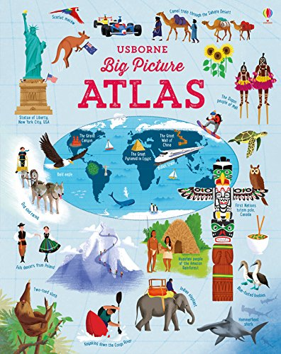 Buy Big Picture Atlas by Emily Bone & Dan Taylor