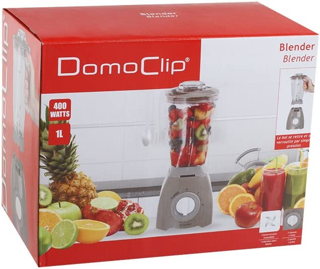 Domoclip dop163t licuadora Taupe: Amazon.es: Hogar