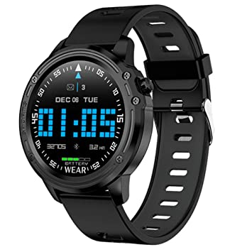 Amazon.com : JJINGINS L8 Smart Watch Fitness Tracker ECG+PPG ...