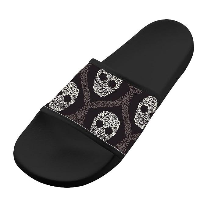 a3761e85df5 Amazon.com  Hawaii Slippers Antiskid Shower Comfy Flip-flop Black ...