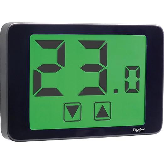 8 opinioni per Vemer VE435400 Termostato Thalos 230 Touch Screen da Parete, Nero