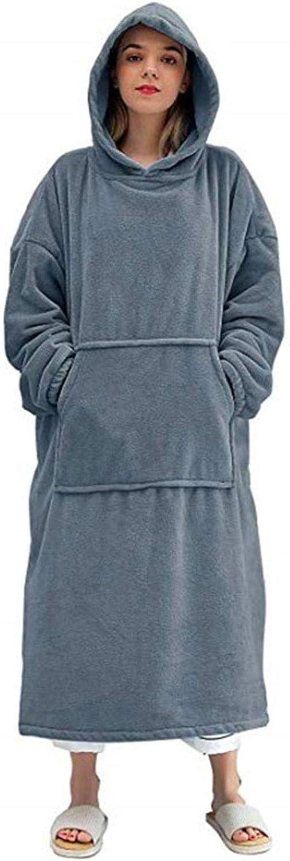 Oversized Hoodie Sweatshirt Blanket, Super Soft Warm Comfortable Pullover Blanket Hoodie, One Size Fits All Men Women Girls, Boys