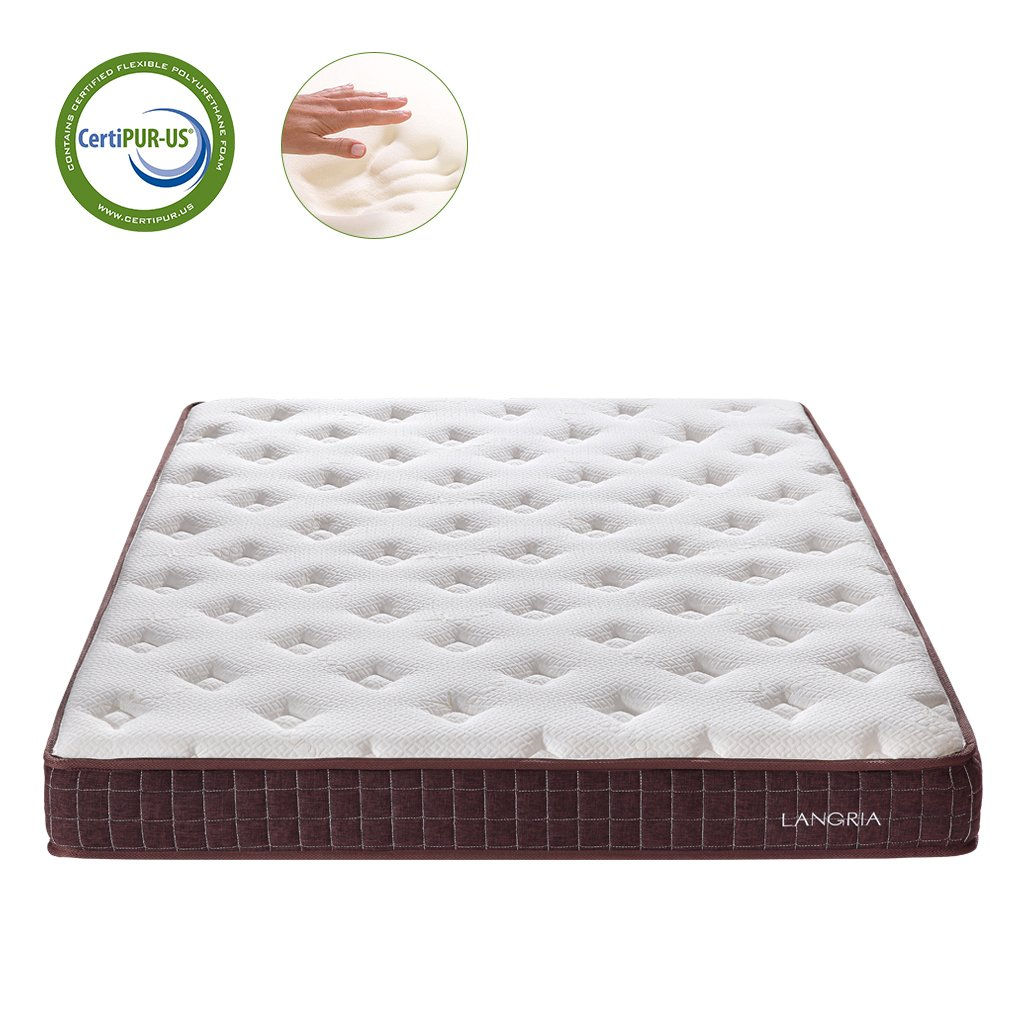 amazon com langria 8 inch essential comfort memory foam mattress