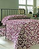 Martex 1C75904 Bedspread, 120-Inch x 118-Inch, King, Vienna Chianti, 1-Pack