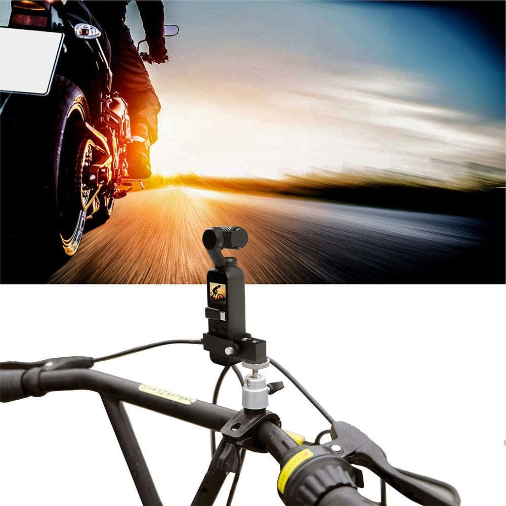 FOTOMIX for DJI OSMO Pocket Mount Bracket Car Motorcycle Mount Bracket Cycling Holder
