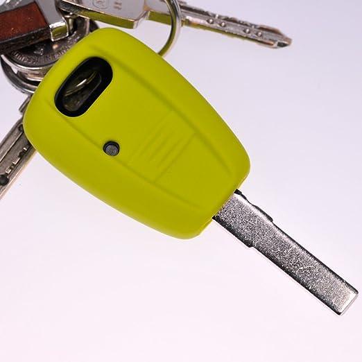 Soft Case Schutz Hülle Auto Schlüssel Grün Für Fiat Elektronik