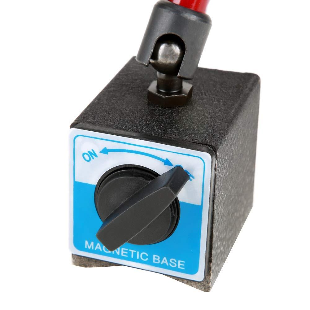 Dial Indicator Holder - 350mm Adjustable Universal Magnetic Base Holder Stand for Dial Test Gauge Indicator,Dial Holder,Dial Gage Holder by OKBY (Image #5)