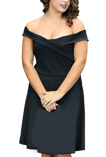 Vestidos cortos de moda color negro