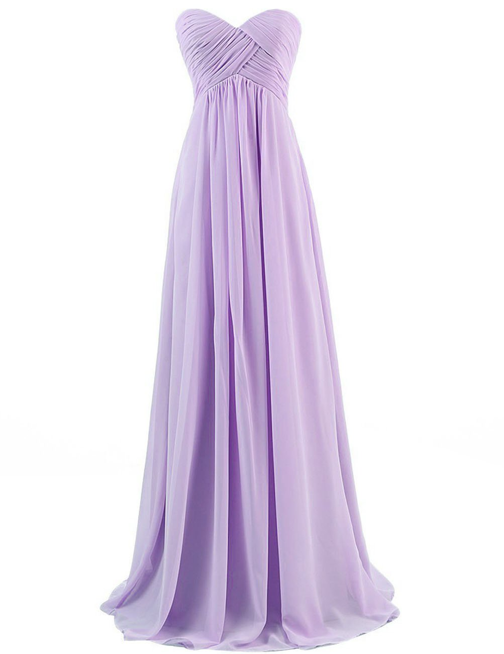 Cdress Chiffon Sweetheart Long Bridesmaid Dresses Plus Size Prom Party Formal Gowns