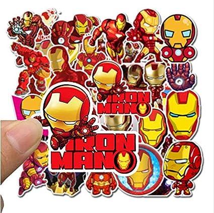 Avengers Endgame Super Heroes Iron Man Stickers Laptop ...