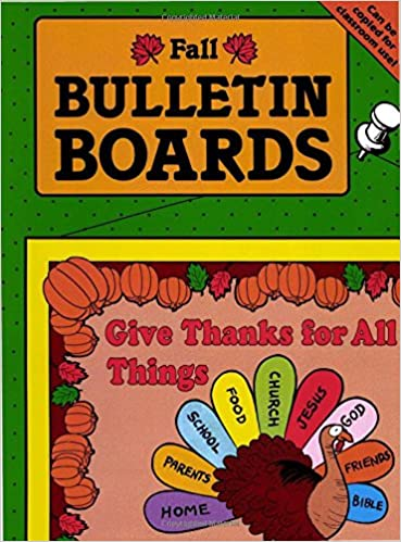 Fall bulletin boards for sunday school carolyn passig jensen fall bulletin boards for sunday school carolyn passig jensen 9780937282335 amazon books altavistaventures