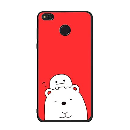Xiaomi Redmi 4X Case Cover Cartoon 3D