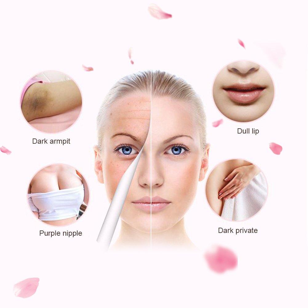 30ML aligeramiento íntimo Crema, aligeramiento de la piel antebrazo pezón Blanqueamiento íntimo de labios rosáceos rejuvenecedor Crema Piel natural de ...