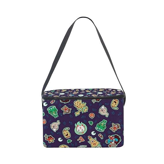 09fd781ef8b8 Amazon.com: Lunch Bag Cooler Tote Bag Yokai Purple Lunchbox Meal ...