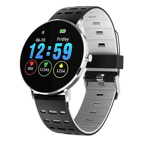 Samgu Reloj Inteligente para iOS y Android Actividad Inteligente Full OLED táctil Reloj Podometro Pulsera Hombre