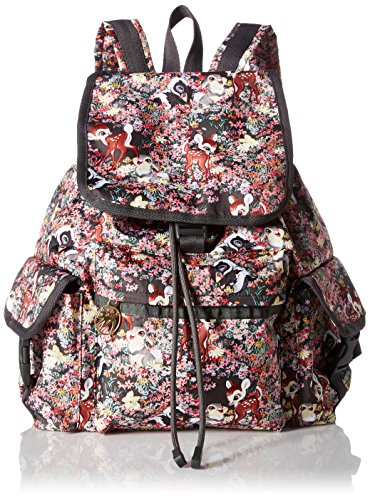 LeSportsac Women's Bambi X Voyager Backpack, Friends