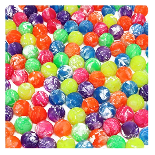 Hi Bounce Ball Assortment Bulk Pack Of 144 Bouncy Balls -
