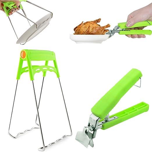 Zzanggu® Pinza de agarre para placa de cocina y placa ...