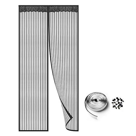 Gut gemocht Homein Fliegengitter Balkontür Magnet Fliegenvorhang für Tür NI03