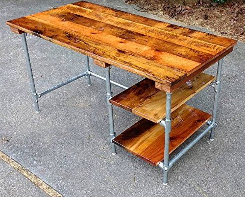 amazon com custom desk made from reclaimed wood bar top any finish