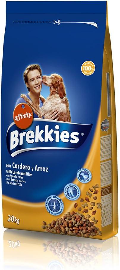 Affinity Brekkies Excel Cordero y Arroz para Perros - 20 kg ...