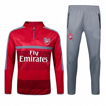 fbb4455a 2016 2017 Arsenal FC Official Football Soccer Jersey Training Jacket Pants  Tracksuit Set In Red: Amazon.co.uk: Sports & Outdoors