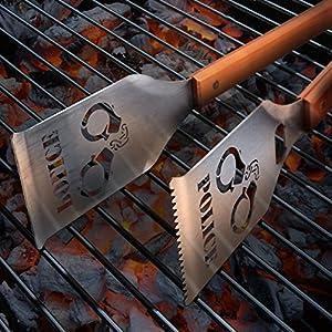 Camo Buck Classic Sportula Grill-A-Tongs BBQ Tool