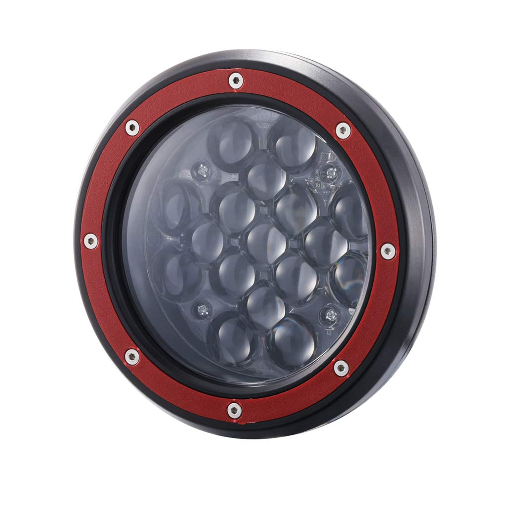 Amazon.com: Z-OFFROAD 1 paquete de 5 pulgadas 51 W LED luz ...
