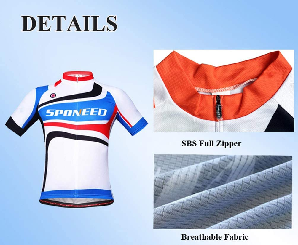 Cycling Jersey Short Sleeve Men MTB Bike Clothing Road Bicycle Shirts Shorts Padded Pants