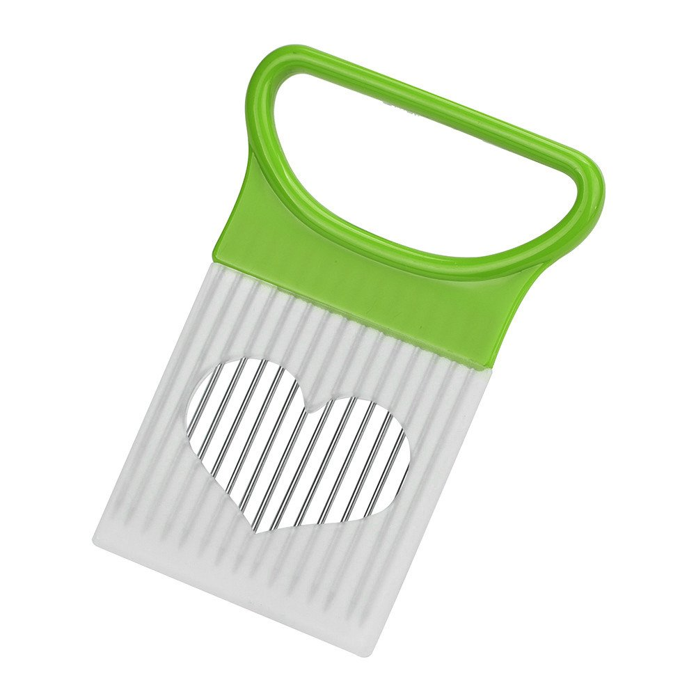 Onion Holder for Slicing,Pausseo All-in-One Vegetable Multipurpose Chopper Metal Stainless Steel Cutting Kitchen Gadget Onion Peeler Food Choppers and Dicers Potato Cutter Onion Knife Tool (Green)