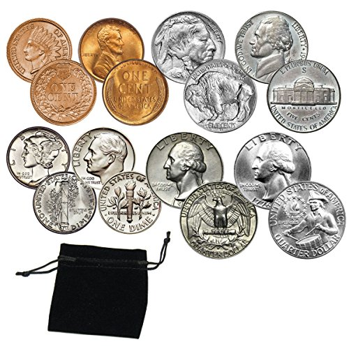 (Coin Collecting Starter Kit - Includes Classic Coins for your coin collection)