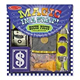 It's a snap to learn and perform these professional caliber magic tricks! the tricks in this collection, geared for kids four and older, are simple to master, yet truly amazing to behold. The 12-piece set includes a coin that magically appears in a m...