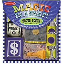 Melissa & Doug Magic in a Snap! Hocus Pocus Collection Magic Tricks Set (12 pcs)