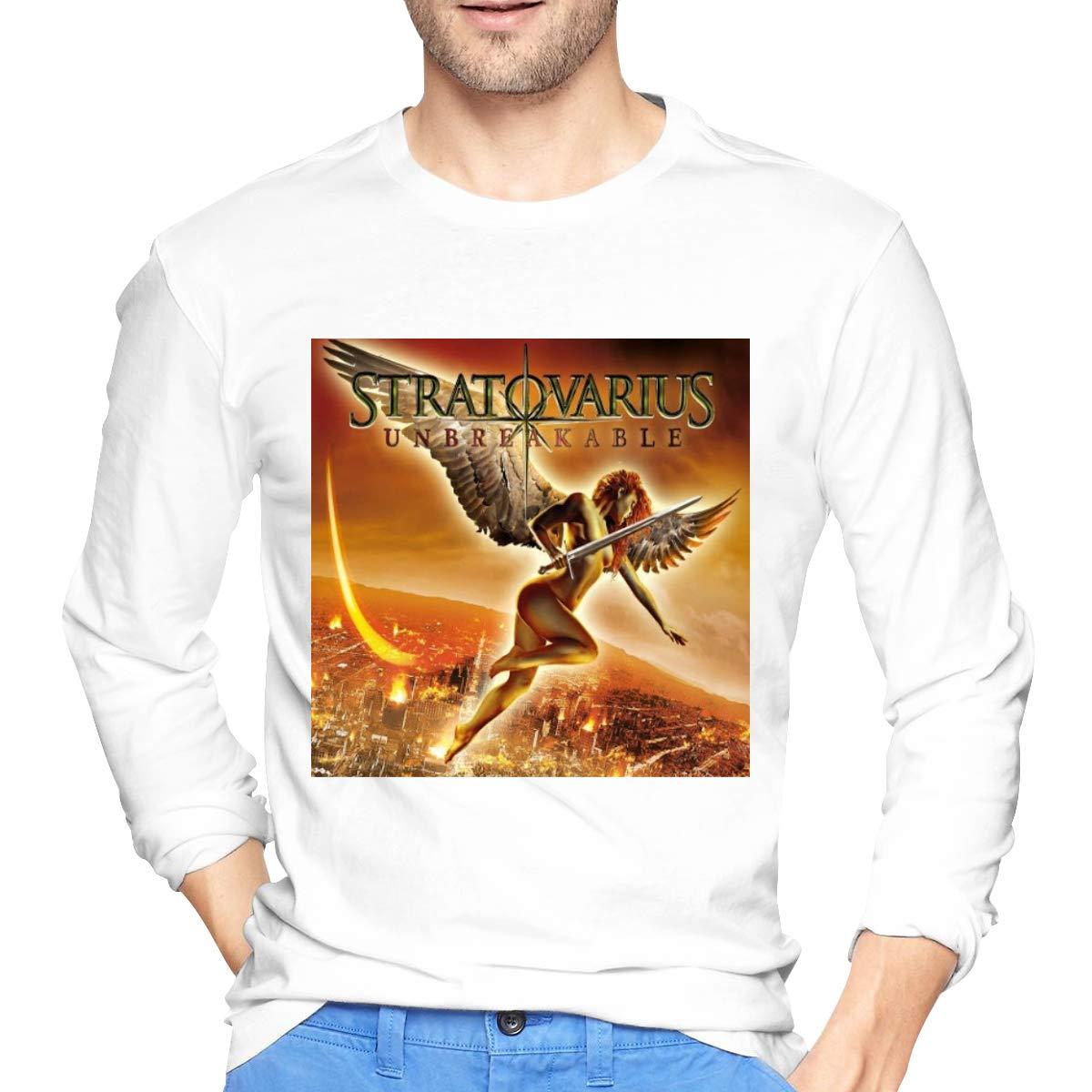 Lihehen Man Stratovarius Simple Casual Round Neck T Shirt S