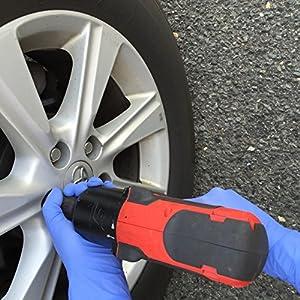 Disposable Nitrile Exam Powder Free Gloves - automotive work