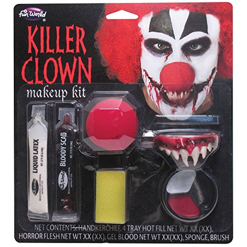 Killer Clown Makeup Kit Costume Makeup -