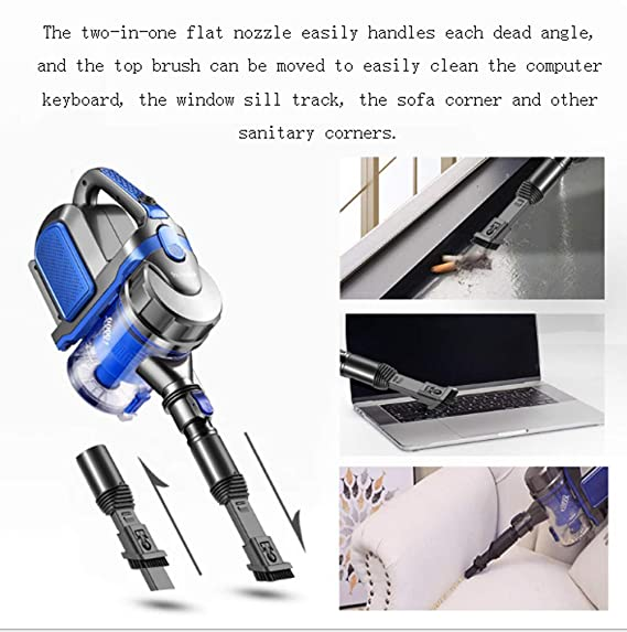 Amazon.com - SqsYqz Vacuum Cleaner Home Handheld Push Rod ...