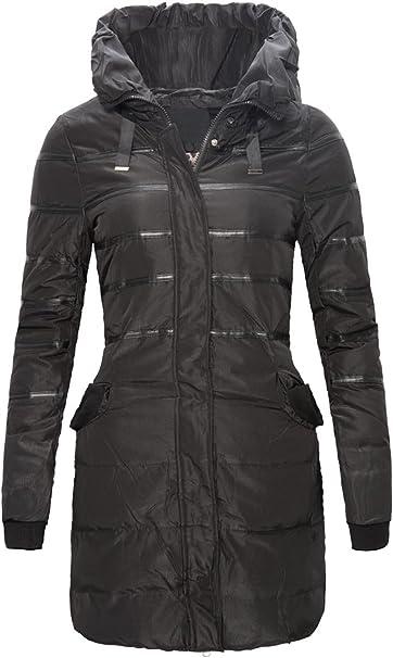 Rock Creek Selection Damen Winter Jacke Daunen Mantel