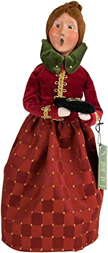 Byers Choice 5 Gold Rings Caroler Figurine 735 from The 12 Days of Christmas Collection