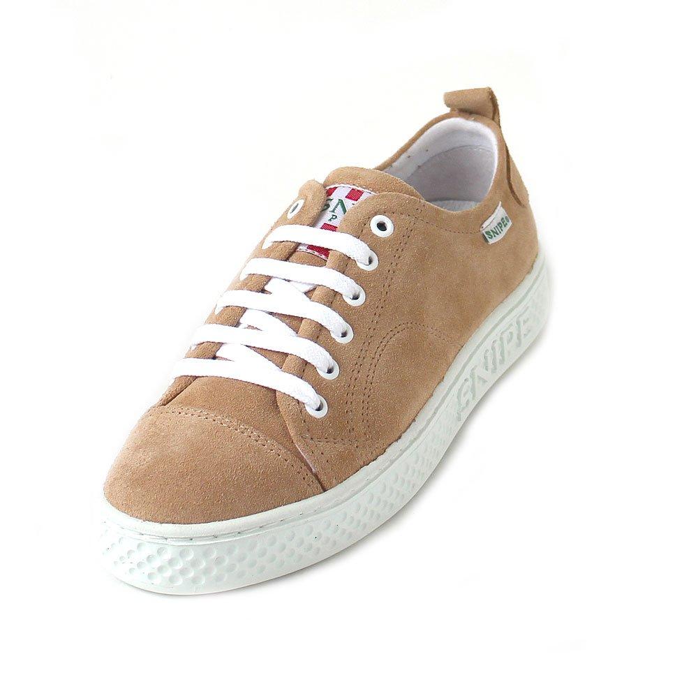 Snipe Zapatos con Cordones de Piel Mujer 37 EU|Braun (arena)