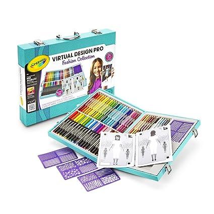 Crayola Virtual Design Pro-Fashion Set: Amazon.com.mx: Juegos y juguetes